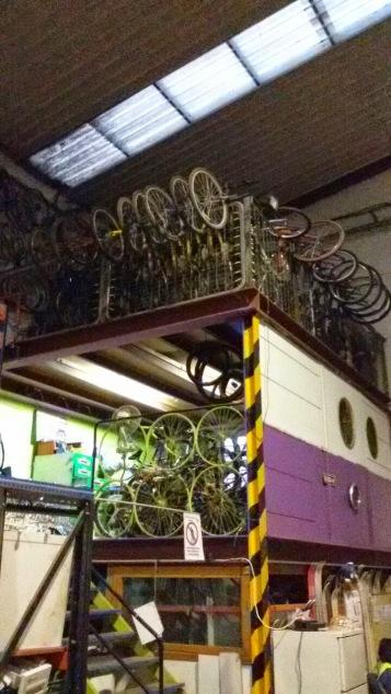 ...bicicletas...