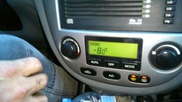 8º bajo cero