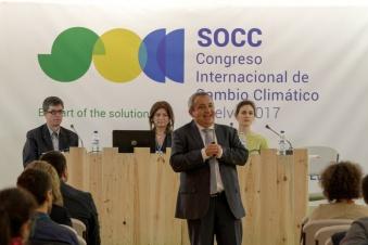 momento de la ponencia sobre nuevas estructuras en el SOCC 2017
